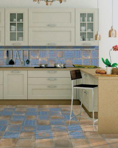 Bodenfliese Küche Landhaus Cotto