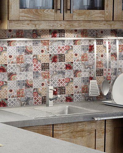 Mosaikfliesen für Küche