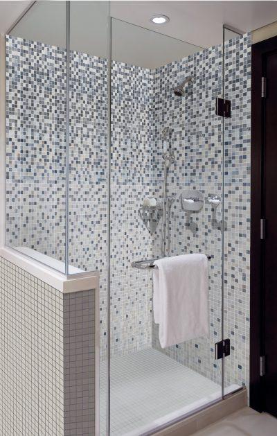 Sechseck Mosaik Badmosaik Mosaik im Badezimmer